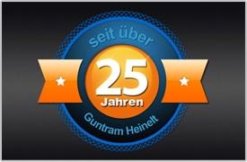 Seit über 25 Jahren Ihr Partner - Guntram Heinelt