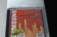 CD-DVD Verpackung mit Jewelbox