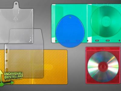 CD DVD Verpackungen Individuell bestellbar