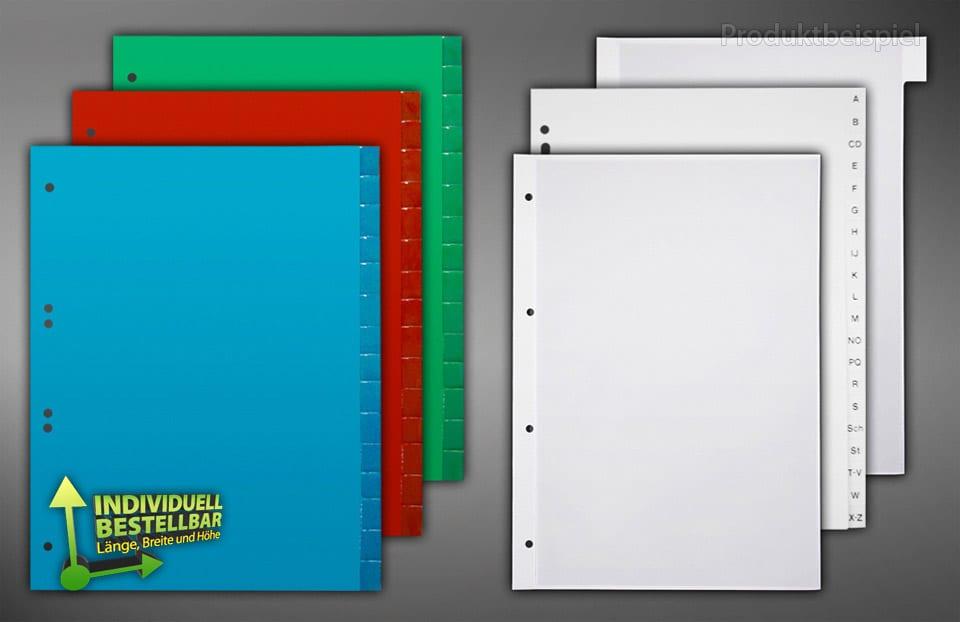 Bedruckte Deckblätter im individuellem Design