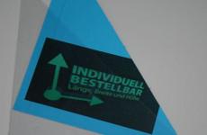 Dreiecktasche individuell