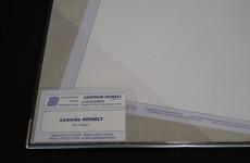 Dreiecktaschen mit Visitenkartentasche
