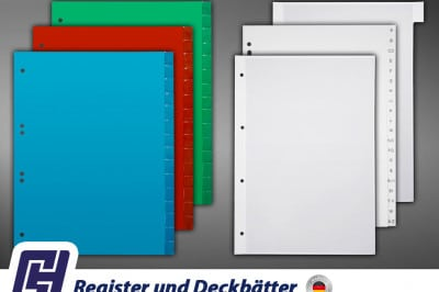 Register Deckbätter