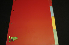 Register in verschiedenen Farben