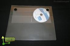 Schutzhüllen klar mit CD-DVD-Taschen