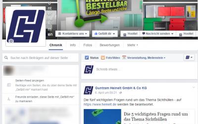 Werde Fan unserer neuen Facebook Seite