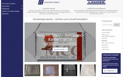 Der Heinelt Shop für Standardprodukte startet
